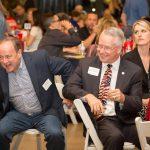 Justice Bolick, Bill Montgomery, Jeff & Mrs. Dewitt